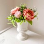 Vase Stella XS, 5 soap flowers